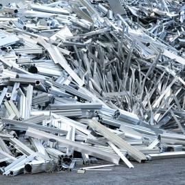 Bild von Metallschrott